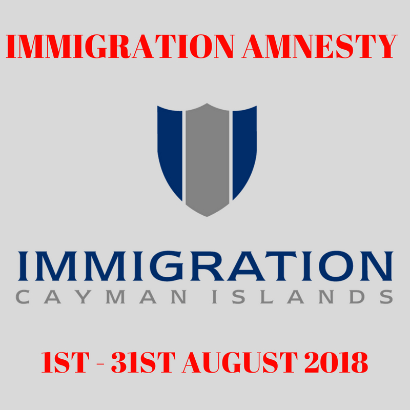 The DOI has announced a one-month amnesty from prosecution for certain immigration offences.