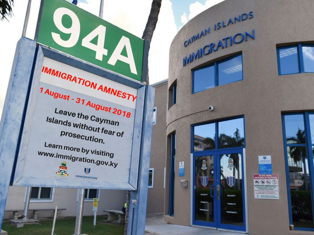 The DOI reports that 14 persons have taken advantage of the ongoing amnesty from prosecution for certain immigration offences.